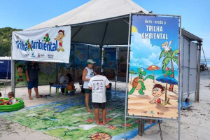 Tenda Ambiental desembarca em Guaratuba