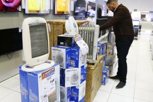 Primeiro frio do ano anima comércio de Curitiba, que espera vender 5% mais aquecedores