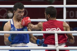 Hebert Conceição garante pelo menos a medalha de bronze no boxe em Tóquio