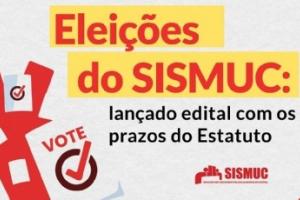 SISMUC convoca servidores municipais para eleições do Sindicato