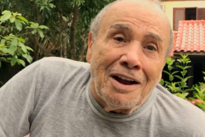 Vacinado contra covid-19, Stênio Garcia testa positivo, afirma a mulher do ator