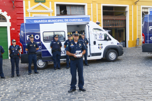 Curitiba ganha mais guardas, viaturas, armas e até drones