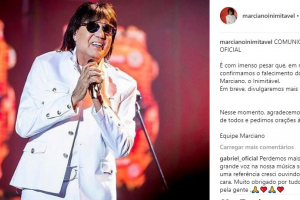 Morre o cantor sertanejo José Marciano