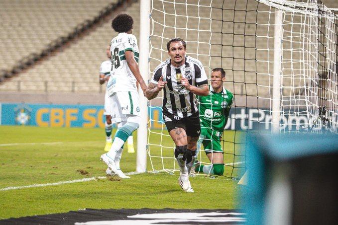 Coxa faz gol relâmpago, mas vacila e cede virada ao Ceará: 'Está ficando feio', diz Giovanni Augusto