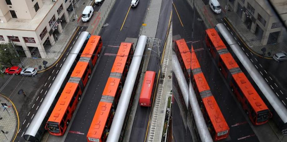 Subsídio ao transporte coletivo de Curitiba é tema de reunião entre Greca e Ratinho