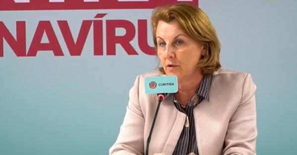 'Curitiba conseguiu achatar a curva do  novo coronavírus', diz secretária de Saúde