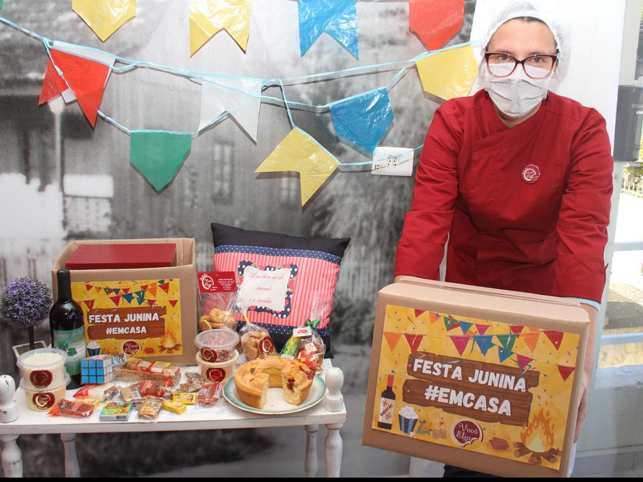 Festas juninas também se adaptam aos tempos de pandemia em Curitiba