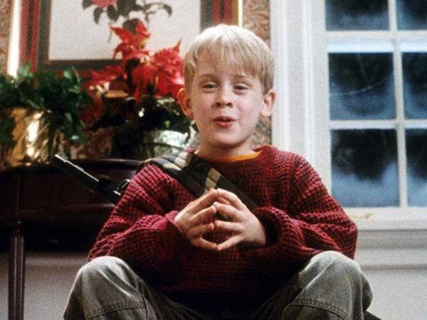 Macaulay Culkin, no filme Esqueceram de Mim