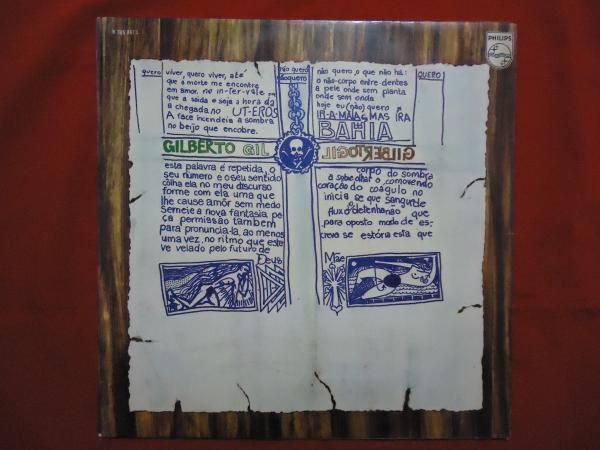 Capa de Gilberto Gil, do Gilberto Gil.