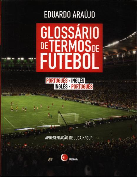 Livro Glossário de Termos de Futebol