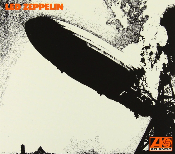 Capa de Led Zeppelin, do Led Zeppelin.
