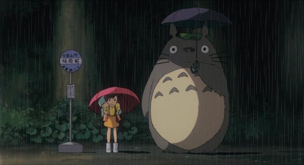 O clássico filme Meu Amigo Totoro.