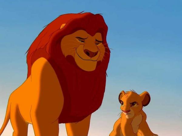 Mufasa, de O Rei Leão.
