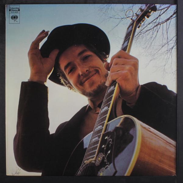 Capa de Nashville Skyline, de Bob Dylan.