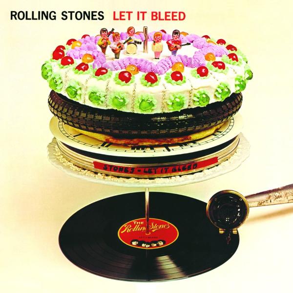 Capa de Let It Bleed, dos Rolling Stones.
