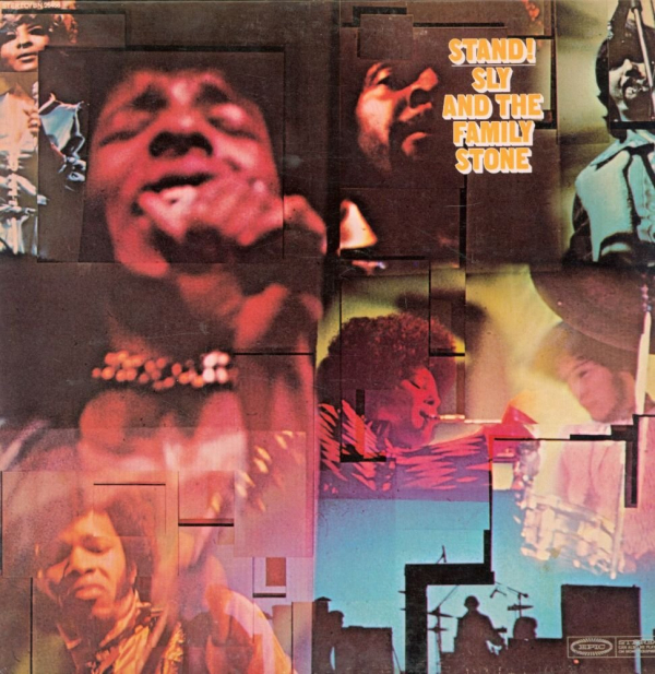 Capa de Stand!, do Sly & The Family Stone.