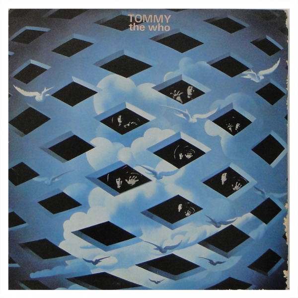 Capa de Tommy, do The Who.