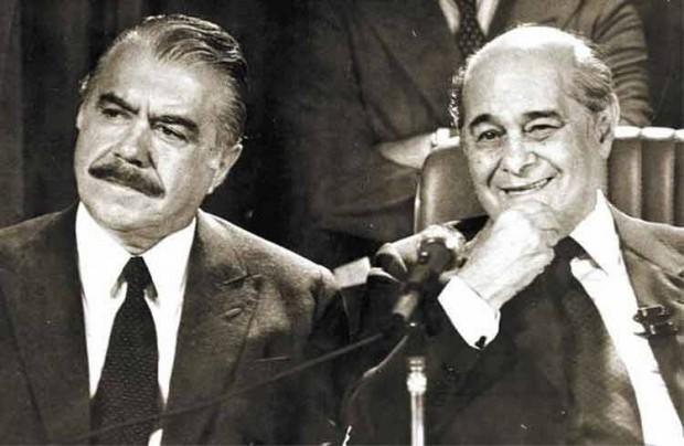 José Sarney e Tancredo Neves